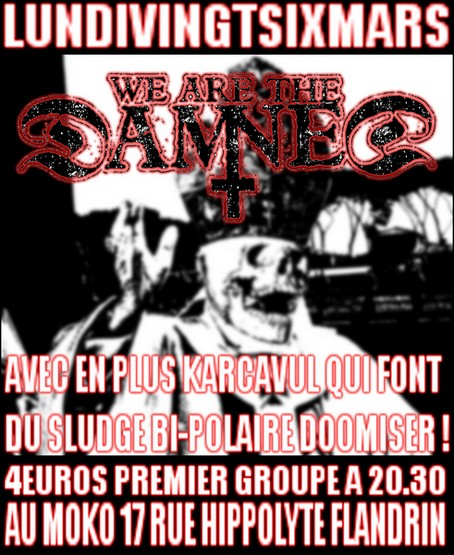 We Are The Damned @ Lyon